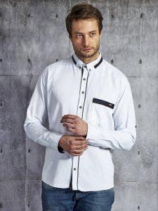 białe koszule męskie