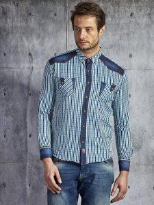 jenasowe koszule męskie