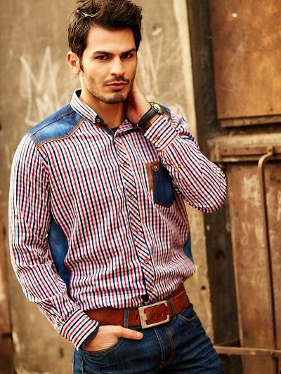 koszule męskie we wzory